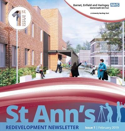 St Ann's redevelopment newsletter Issue 1 front cover